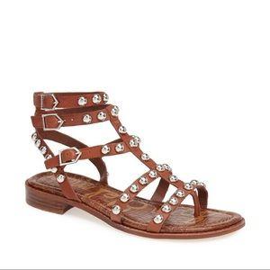 cc90e10029f Sam Edelman Studded Gladiator Sandals